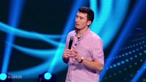 Vrei să te amuzi copios? Florin Serghei are un număr excelent de stand up comedy, pe scena iUmor