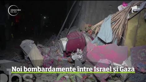 Noi bombardamente între Israel și Gaza