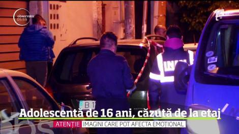 Incident dramatic, în sectorul doi al Capitalei. O adolescentă şi-a găsit sfârşitul după ce a căzut de la etajul al doilea al unui bloc