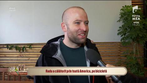 Aventurile pe bicicletă prin Americi ale lui Radu Păltineanu, inspirație pentru elevi: Tinerii trebuie să prindă curaj și să părăsească zona de confort