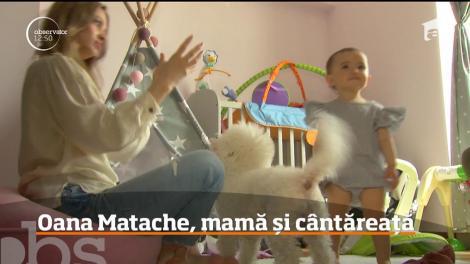Oana Matache, mamă și cântăreață. Cum reușește sora Deliei
