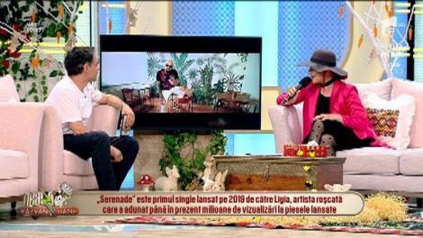 """Ligia, fostă concurentă """"X Factor"""", a lansat o nouă melodie, """"Serenade"""", alături de Matteo! Este o invitație la dans! Video"""