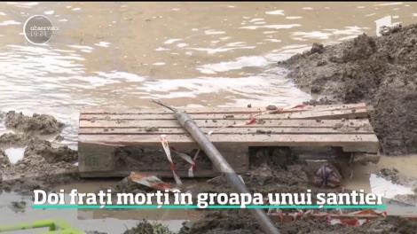 Doi fraţi din Dâmboviţa au murit după ce au căzut într-o groapă neasigurată