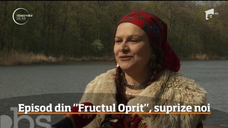 Maria Buză intră în echipa Fructul Oprit. Şliboviţa este noul personaj al serialului