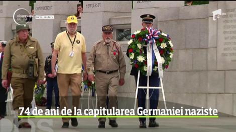Ceremonii impresionante în toată lumea în ziua care a marcat 74 de ani de la capitularea Germaniei naziste