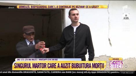 A apărut martorul care a auzit bubuitura produsă de accidentul lui Răzvan Ciobanu