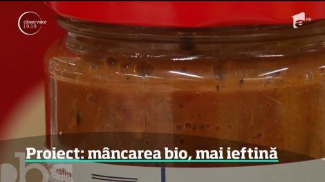 Alimentele bio şi cele tradiţionale româneşti s-ar putea ieftini