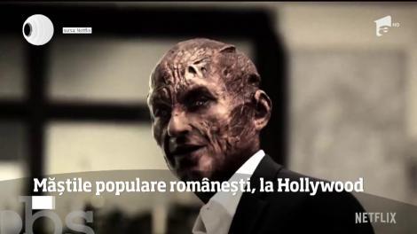 Tradiţia românească face furori la Hollywood. Actorii serialului-fenomen Lucifer promovează măştile tradiţionale din România