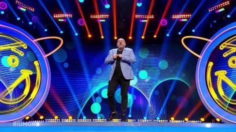 Jutații nu i-au gustat glumele. Ioan Olteanu a venit pe scena iUmor cu un număr de stand up comedy prea dur