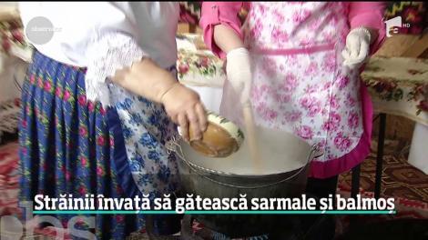 Bucătăria românească îi atrage pe străini, într-atât încât vor să înveţe cum să gătească corect reţetele tradiţionale