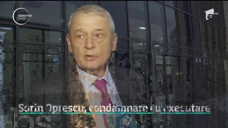 Sorin Oprescu, condamnat la peste patru ani de închisoare cu executare