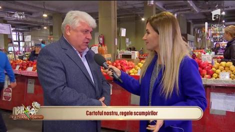 Preţul cartofilor, cel mai popular aliment al românilor, s-a scumpit din nou