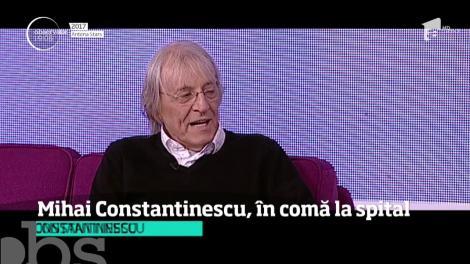 """Detalii de ultimă oră despre Mihai Constantinescu! Declarația unui apropiat care a intrat în salonul lui. """"Am văzut că…"""""""