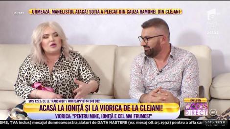 Acces Direct. Viorica și Ioniţă de la Clejani, interviu de neratat: Îmi dă bani doar pentru cheltuielile casei. Nu știu câți bani are