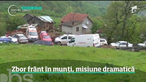 Informații noi despre tragedia din munţii Buzăului. De ce s-a prăbușit avionul