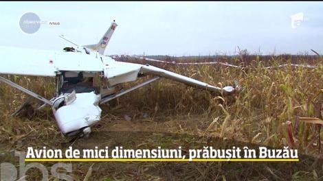 Update: Ultimă oră! Avion de mici dimensiuni, prăbușit în Buzău! Surse: Cele două persoane aflate la bordul aeronavei au decedat