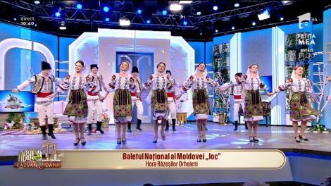 Baletul Național al Moldovei Joc ne prezintă Hora Răzeștilor Orheieni