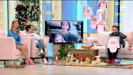 Eu am un superbebe! Micul Supererou și mămica lui, Simona, în direct la Neatza cu Răzvan și Dani