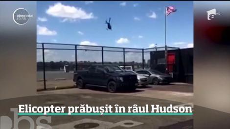 Erou în acțiune! Un pilot i-a făcut concurență celebrului Sully, după ce elicopterul lui s-a prăbuşit în New York! Imagini dramatice - Video