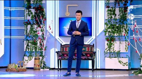 Fang Shuang cântă, la Neatza cu Răzvan și Dani, melodia Copacul