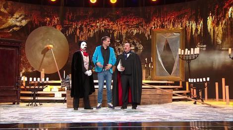 Scena Misterelor. Demascare Fantoma de la Operă. Vedeta din spatele măștii este o cunoscută actriță