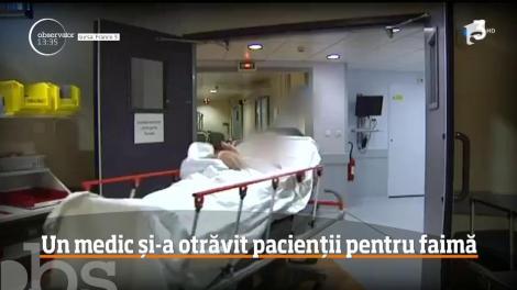 Caz fără precedent! Nouă oameni au murit, după ce un medic anestezist le-a provocat atacuri cardiace