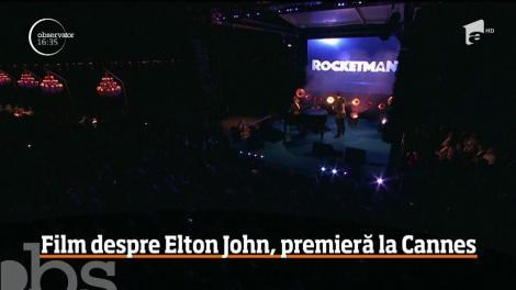 Filmul despre viaţa lui Elton John, premieră la Cannes
