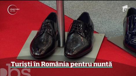 Turiști în România pentru nuntă. Străinii au început să vină în ţara noastră să-şi cumpere de aici rochiile de mireasă, costumele şi toate accesoriile