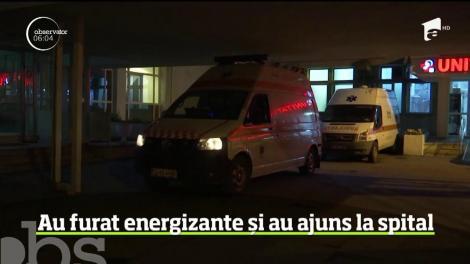 Șapte frați au furat energizante dintr-un magazin, iar apoi au ajuns la spital