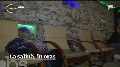 O oră petrecută în salină este sănătate curată, dar nu toţi avem norocul să trăim la Praid sau în Slănic Moldova