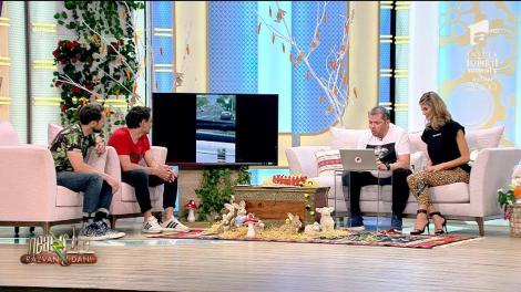 Neatza cu Răzvan și Dani! Smiley News. Cum se face în America transportul de persoane
