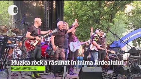 Capitala rock-ului clasic românesc a fost, pentru o seară, în inima Ardealului