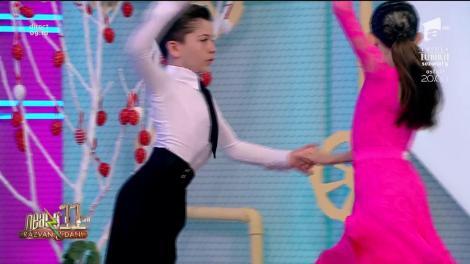 Albert Ivan și Rebeca Mitică, dans senzațional la Neatza cu Răzvan și Dani