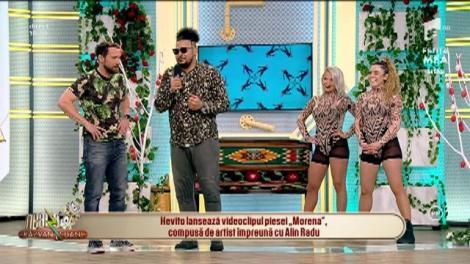 Neatza cu Răzvan și Dani. Hevito lansează videoclipul piesei Morena. Dani Oțil: Ai multe fete în clip