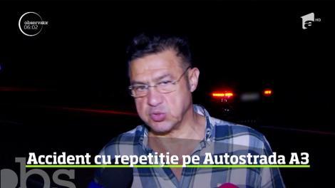 Sfârşit dramatic pentru o femeie pe Autostrada Bucureşti - Ploieşti