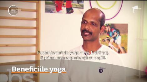 Yoga pentru copii. Care sunt beneficiile