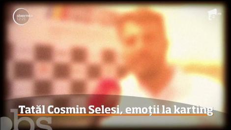 Copilul lui Cosmin Seleși participă la concursul de karting alături de încă 170 de concurenți