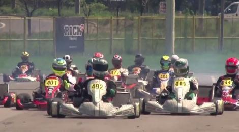 Copilul lui Cosmin Seleși participă la Romanian Karting Masters alături de încă 170 de concurenți (Video)