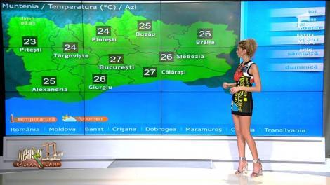 Neatza cu Răzvan și Dani. Vreme instabilă și temperaturi mai scăzute. Maxima zilei va ajunge până la 26°C