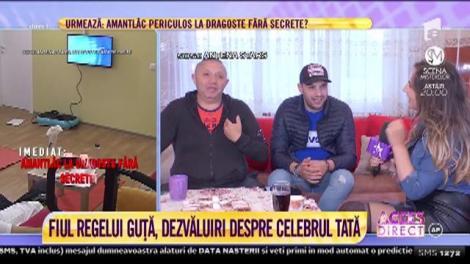 Fiul lui Nicolae Guță are o voce de aur! Tânărul îl întrece pe celebrul său tată! Cum cântă?
