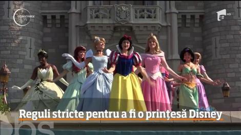 Reguli stricte pentru a fi o prințesă Disney