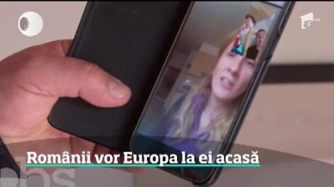 Românii vor Europa la ei acasă