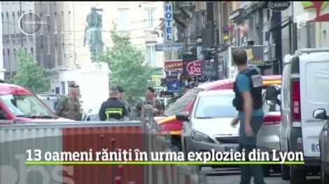 Explozie puternică în centrul oraşului francez Lyon