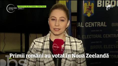 Primii români au votat în Nouă Zeelandă