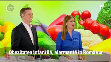 Obezitatea infantilă, alarmantă în România