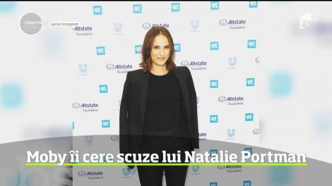 Moby îi cere scuze lui Natalie Portman
