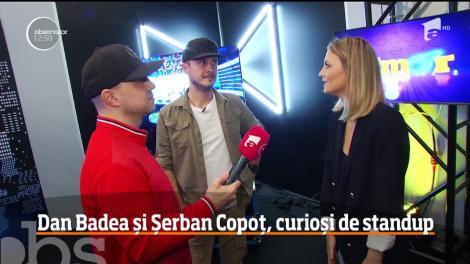 Dan Badea și Șerban Copoț, cu umorul în sânge