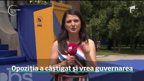 Opoziția a câștigat alegerile europarlamentare și vrea guvernarea țării