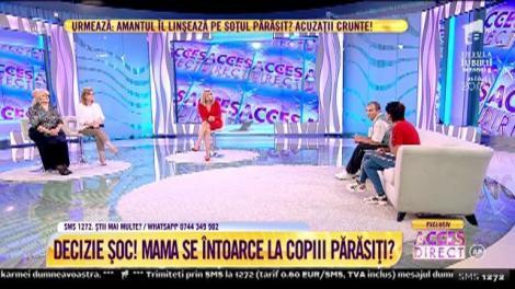 """Cristina Cioran, în lacrimi, în direct, la TV: """"Uiți că ai doi copii de care nu te-ai mai interesat?"""""""