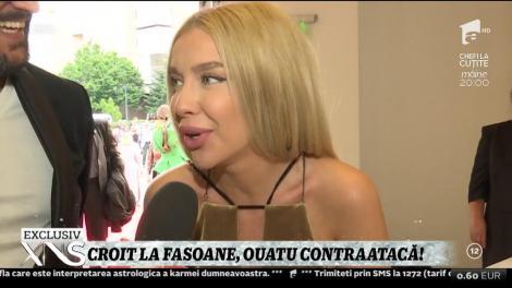 Xtra Night Show. Cezar Ouatu contraatacă!  Artistul a răspuns criticilor aduse de Adina Buzatu şi Adrian Oianu asupra ținutei sale
